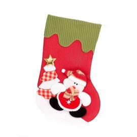 Rotājums ziemassv.zeķe Christmas Touch, 33 cm