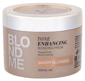 Schwarzkopf Blond Me Tone Enhancing Bonding Mask 200ml Warm Blondes