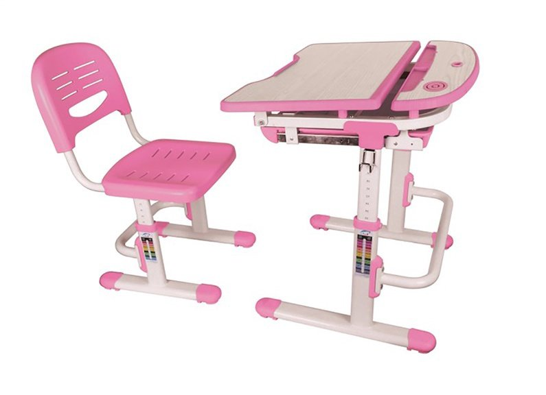 Rašomasis stalas Lumi Legend C304 Pink/White