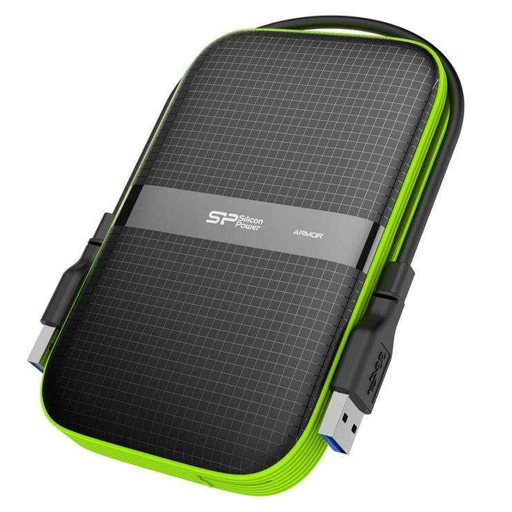 "Silicon Power 5TB Armor A60 2.5"" USB 3.0 Black"