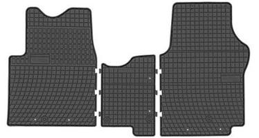 Резиновый автомобильный коврик Frogum Renault Trafic III / Opel II, 2 шт.
