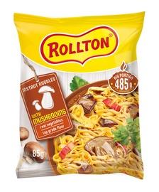 Makaronai, Rollton, grybų skonio, 85 g.