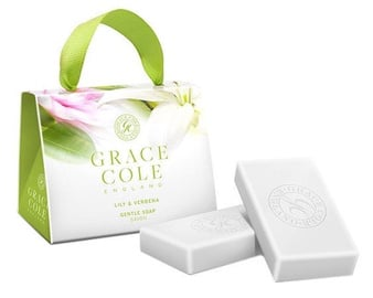 Grace Cole Soap 2 x 75g Lily & Verbena