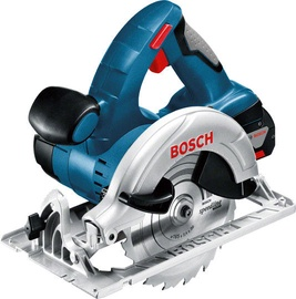 Bosch GKS18V-Li L-Boxx Circular Saw with 2 Batteries