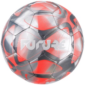 Puma Future Flash Soccer Ball 083262 01 Grey/Orange Size 4