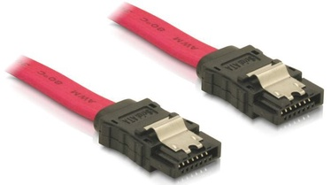 Delock Cable SATA / SATA Red 0.5 m