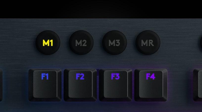 Игровая клавиатура Logitech G815 GL Clicky EN