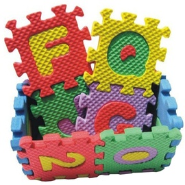 Dėlionė FV Eva Puzzle Mat Letters & Numbers 36pcs