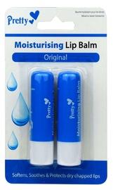 Pretty Moisturising Lip Balm Original 2x4.3ml
