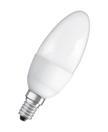 LED lempa Osram C11, 6W, E14, 2700K, 470lm