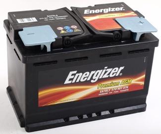 Аккумулятор Energizer Premium AGM, 12 В, 70 Ач, 760 а