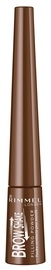 Rimmel London Brow This Way 3 In 1 Soft Filling Powder 2.5g Medium Brown