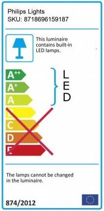Išmanusis pakabinamas šviestuvas Philips LED Hue Amaze, 39W, 2200-6500K, 3000lm, DIM, RC