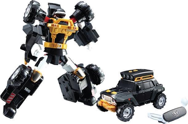 Young Toys Tobot K Black