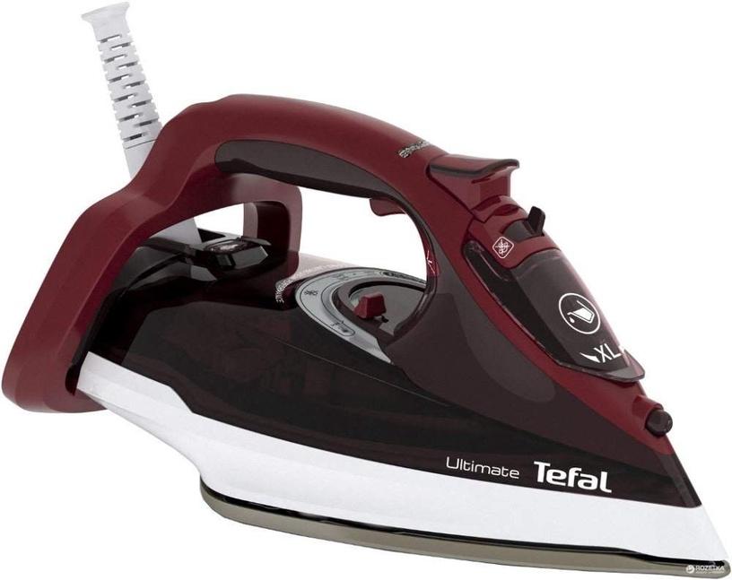 Утюг Tefal Ultimate Anti-Calc FV9775, белый/черный/красный