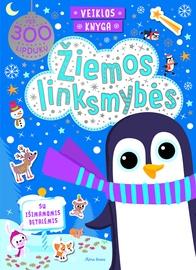 Knyga Žiemos linksmybės. Veiklos knyga