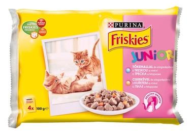 Kaķu barība Friskies Junior 4 gab.