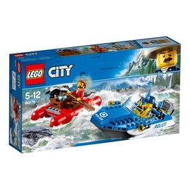 Konstruktor LEGO City,  Tormisel jõel põgenemine 60176