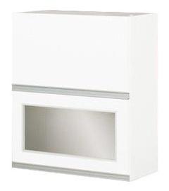 Bodzio Sandi Upper Cabinet 60x72x31cm Polished White