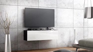 TV galds Pro Meble Arsenal White/Black, 1050x320x300 mm