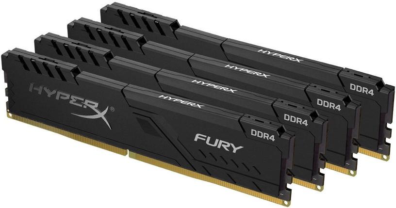 Operatīvā atmiņa (RAM) Kingston HyperX Fury Black HX432C16FB3K4/32 DDR4 32 GB