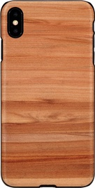 Man&Wood Cappuccino Back Case For Apple iPhone X/XS Black