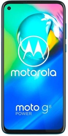 Mobilusis telefonas Motorola Moto G8 Power Capri Blue, 64 GB
