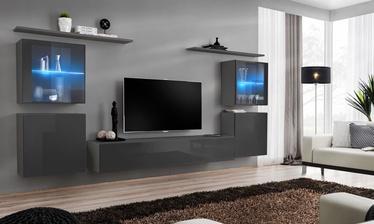 Dzīvojamās istabas mēbeļu komplekts ASM Switch XIV Graphite