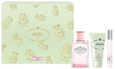 Набор для женщин Prada Infusion Rose 2017 100 ml EDP + 50 ml Hand Cream + 10 ml EDP