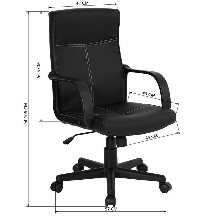 Biuro kėdė Tveit Black