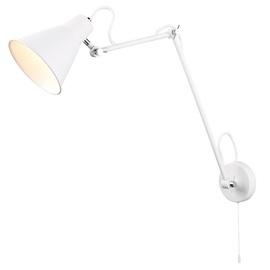 Retro stiliaus sieninis šviestuvas Searchlight 7403WH, 1 x 10W E27