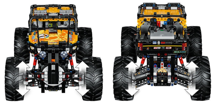 Конструктор LEGO Technic 4X4 X-Treme Off-Roader 42099