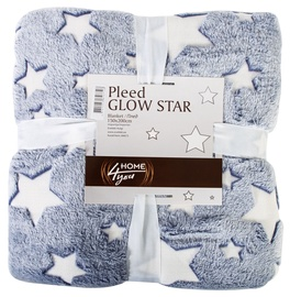 Home4you Glow Star Blanket 150x200cm Blue