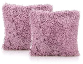 AmeliaHome Karvag Pillowcase 45x45 Orchid 2pcs