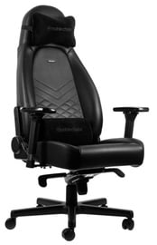 Žaidimų kėdė Noblechairs ICON Pu Leather Gaming Chair Black
