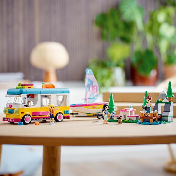 Конструктор LEGO Friends Forest Camper Van And Sailboat 41681, 487 шт.