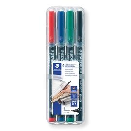 Marker Lumocolor S 0,4mm 4tk Staedtler