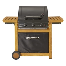 Campingaz Adelaide 3 Woody L Gas Grill Brown Black