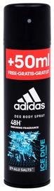 Vīriešu dezodorants Adidas Ice Dive, 200 ml