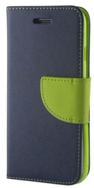 Mocco Fancy Book Case For Nokia 6.1 Plus Blue/Green