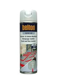 Aerosola krāsa ceļu marķēšanai Belton, sarkana, 500 ml