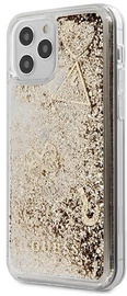 Guess Glitter Charms Back Case For Apple iPhone 12/12 Pro Gold