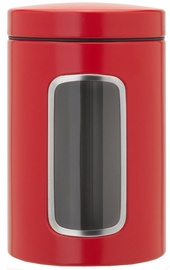 Brabantia Window Canister 1.4l Passion Red