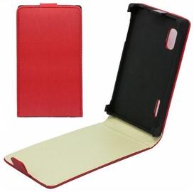 Telone Shine Pocket Slim Flip Case Microsoft 535 Lumia Red