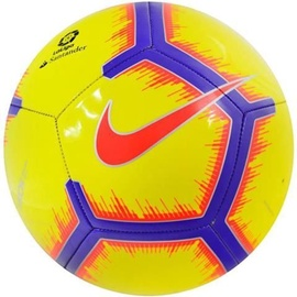 Nike La Liga Pitch Football FA18 710 Yellow/Purple/Red 4
