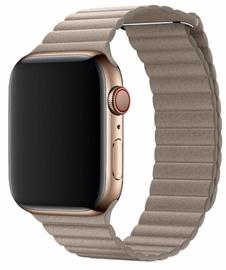 Devia Elegant Leather Loop For Apple Watch 40mm Grey