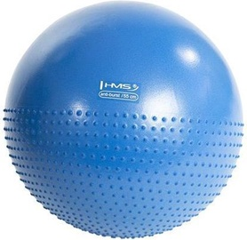 HMS YB03 Half Massage Yoga Ball 55cm Blue + Pump