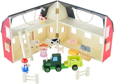 4IQ Farm Wooden Toy