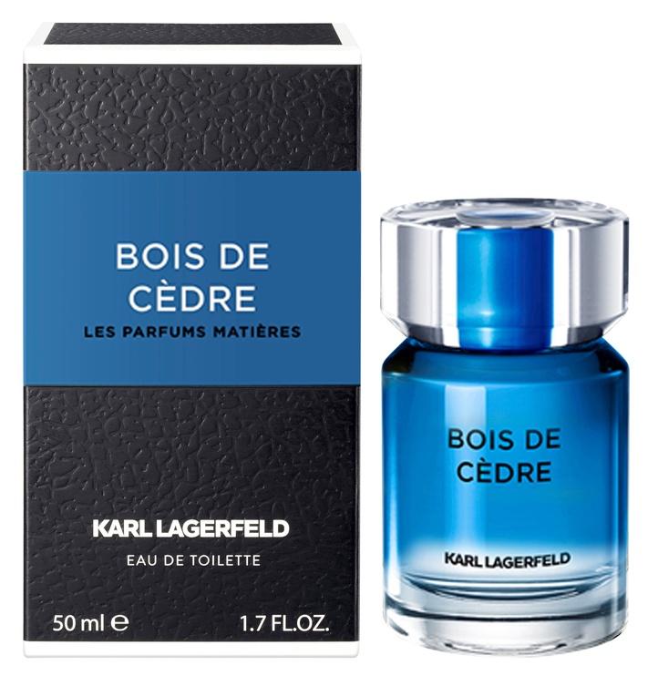 Tualetes ūdens Karl Lagerfeld Bois De Cedre 50ml EDT