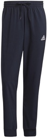 Adidas Essentials French Terry Tapered Cuff 3-Stripes Joggers GK8981 Navy S